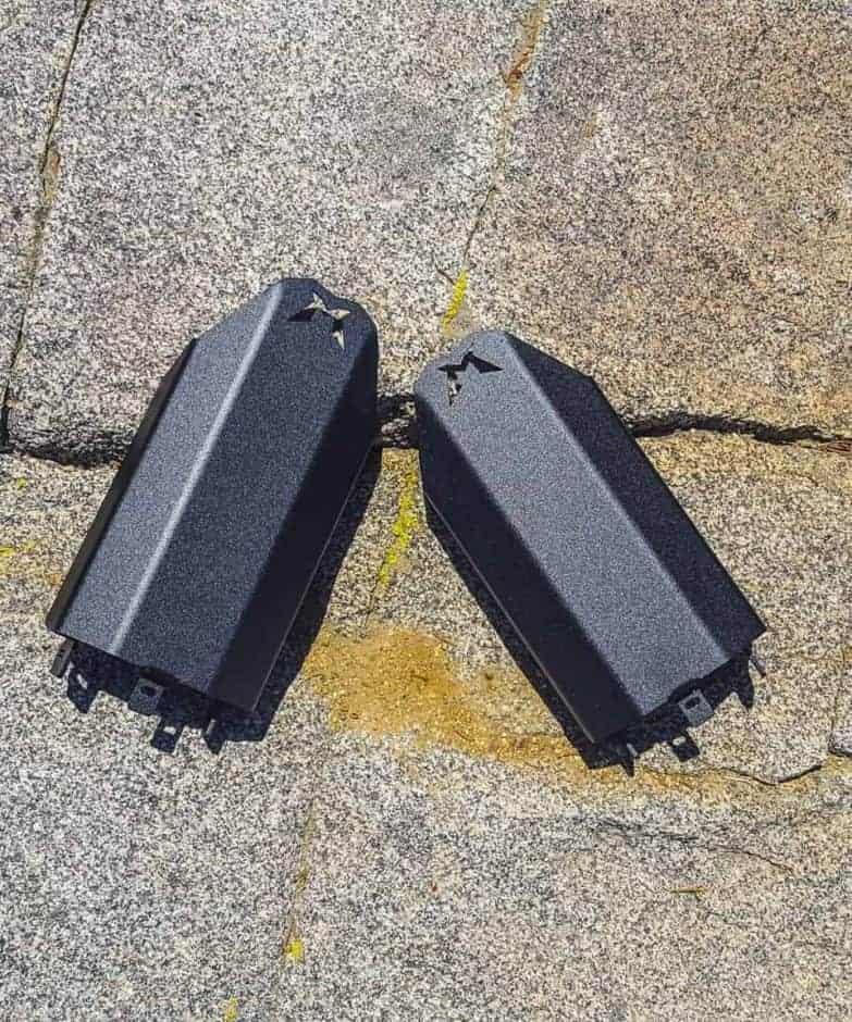 Polaris Rzr Xp Rear Shock Guards
