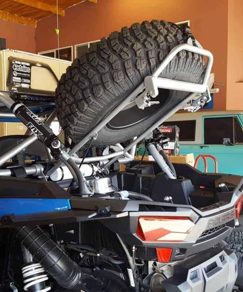 UTV Tire Racks