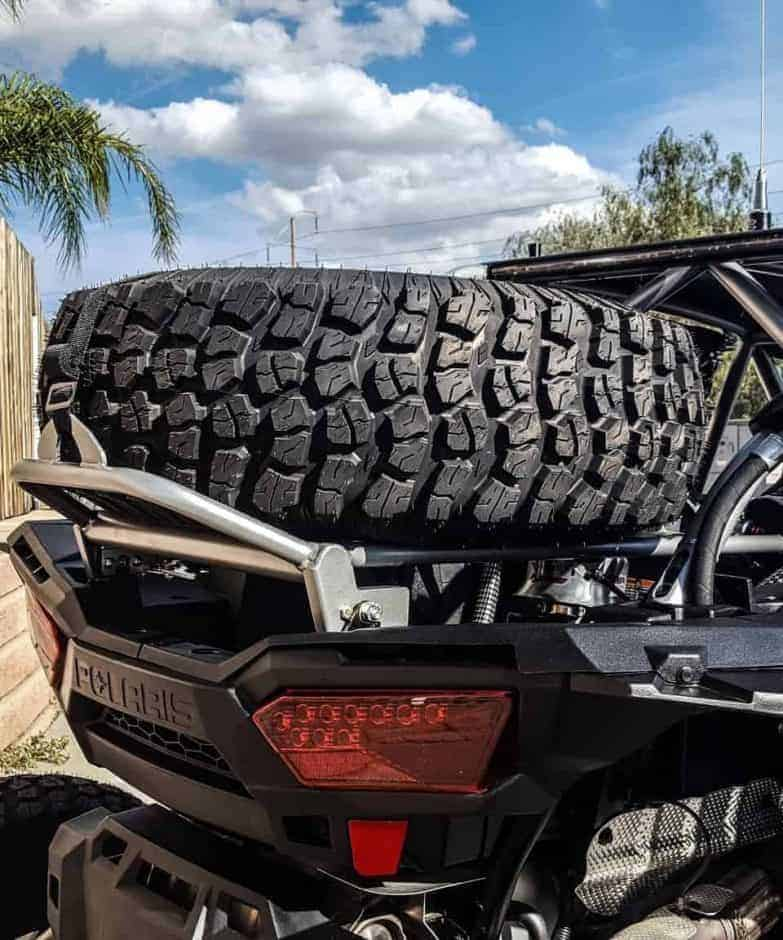 Polaris Rzr Xp Spare Tire Rack