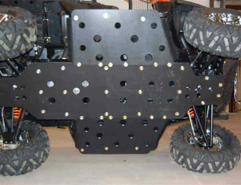 Polaris Ranger Xp 800 Full Skid Plate