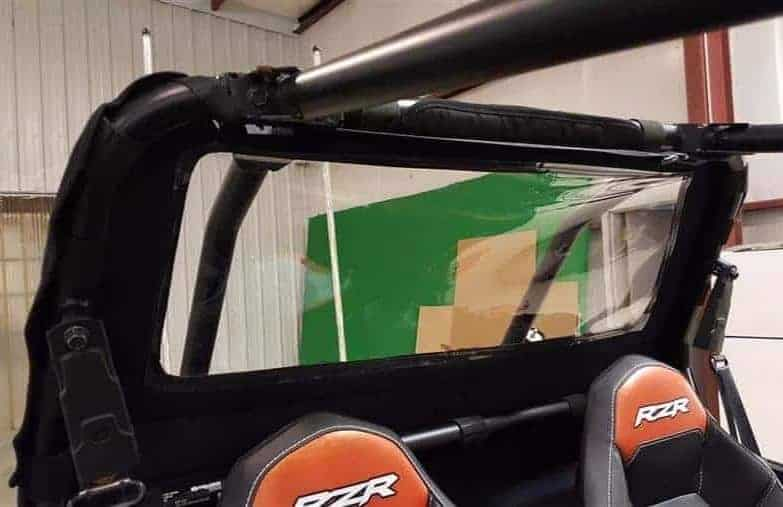 Polaris Rzr Xp Series Enclosure Soft Rear Window