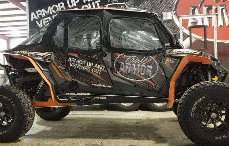 Polaris Rzr Xp Mud Flap Fender Extensions