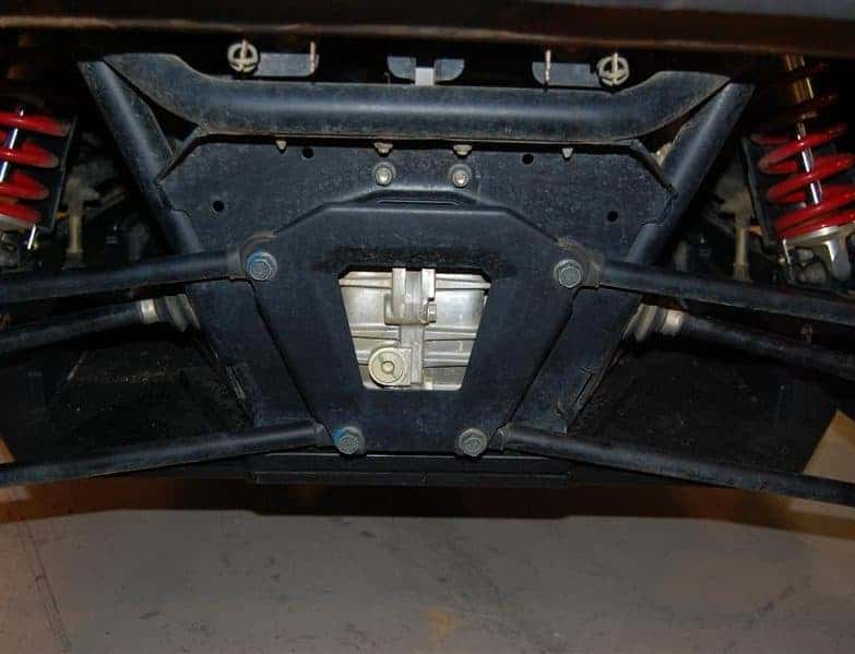 Polaris Rzr Xp 900 Full Skid Plate With Slider Nerfs