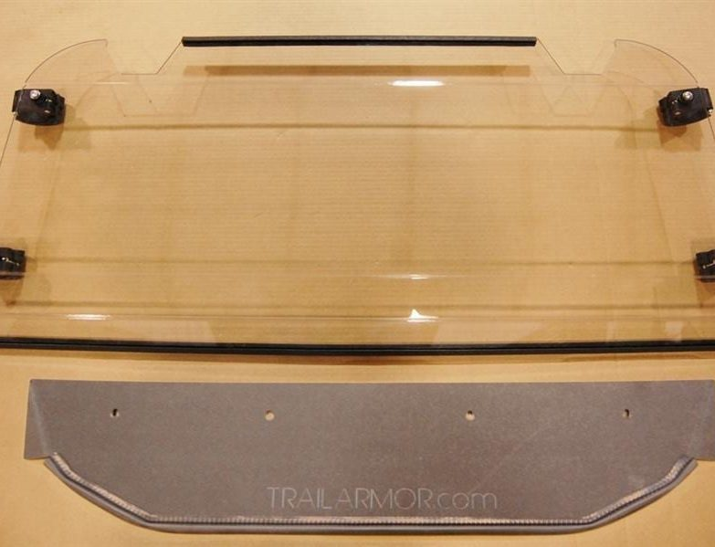 Polaris Rzr S 900 Rear Window Dust Shield
