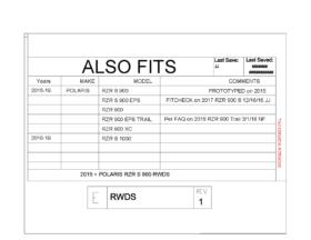 Polaris Rzr 900 Rear Window Dust Shield