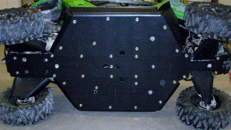 Arctic Cat Wildcat Trail Full Skid Plate With Sliders