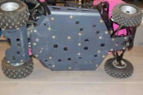 Polaris Rzr 170 Full Skid Plates