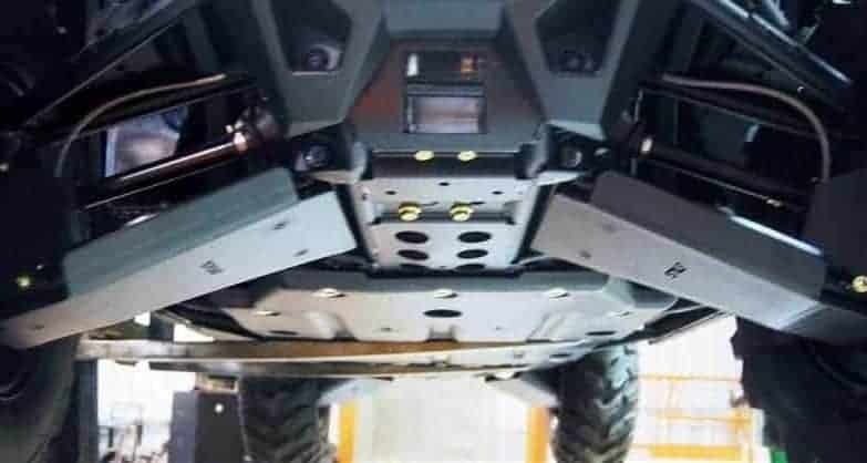 Polaris Rzr 570 Impact A-arm Guards