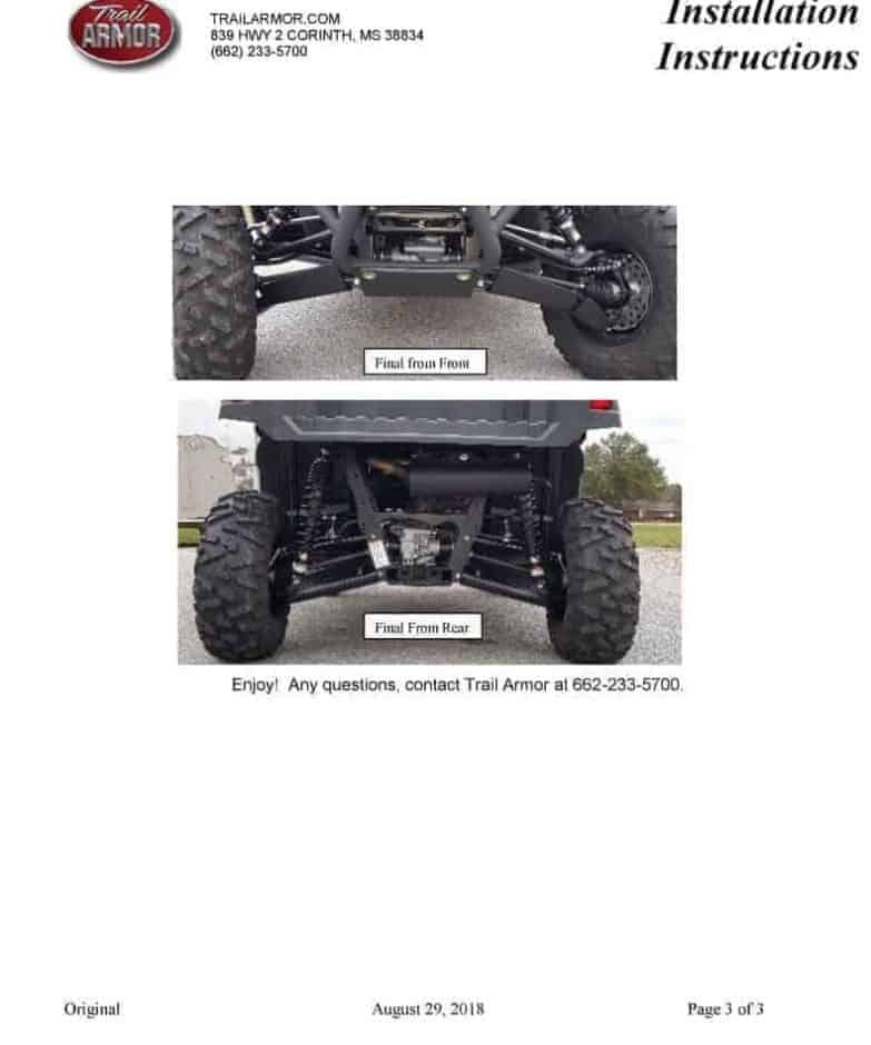 Yamaha Woverine X2 iMpact A-Arm Guards | American Off-Roads