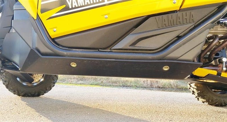 Yamaha Yxz Full Skid Plate With Integrated Sliders
