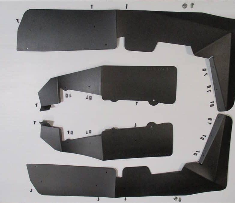 Polaris Rzr 570 Mud Flap Fender Extensions