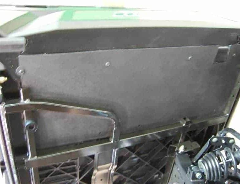 Polaris Ranger Underbed Mud Shield With Fender Enclosures