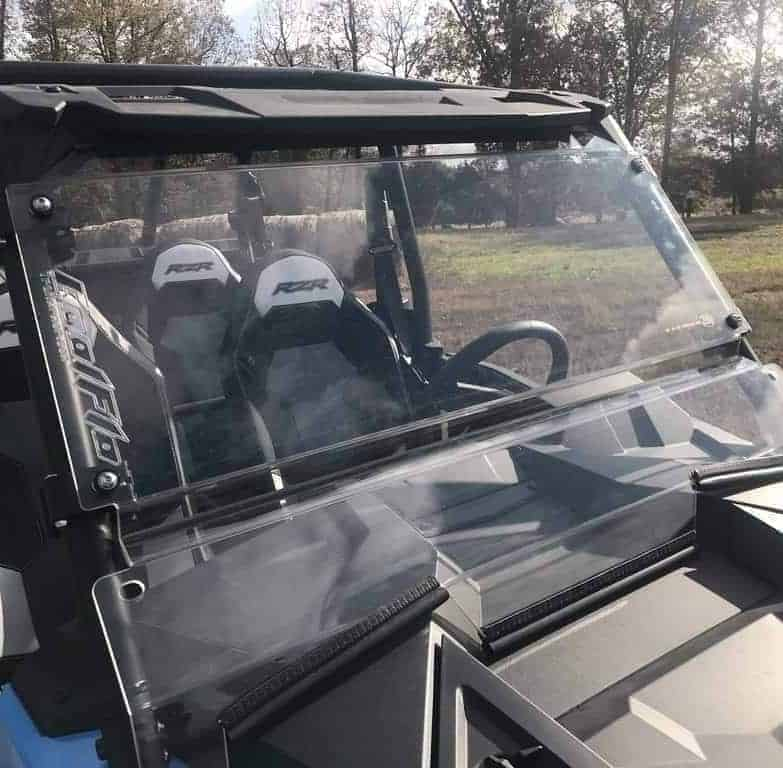 Polaris Rzr Xp Coolflo Front Full Windshield