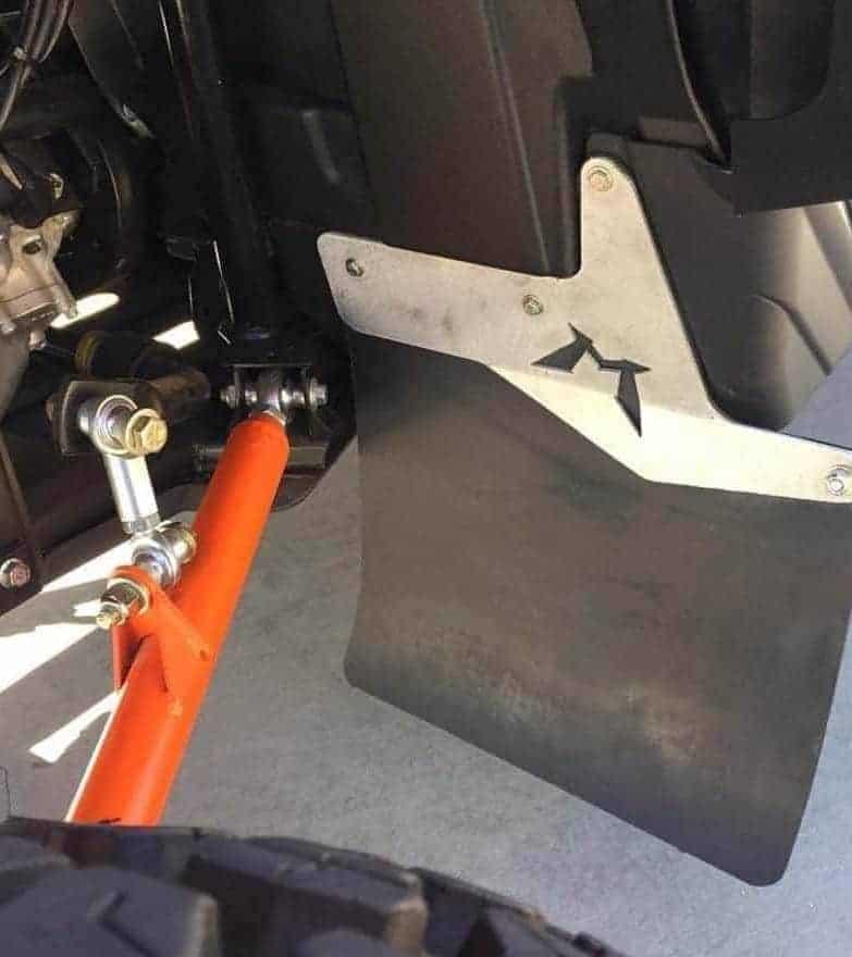 Yamaha Yxz Rear Mud Flap Kit