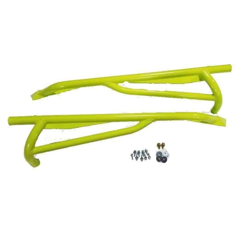 Maverick Nerf Bar Rock Sliders Manta Green