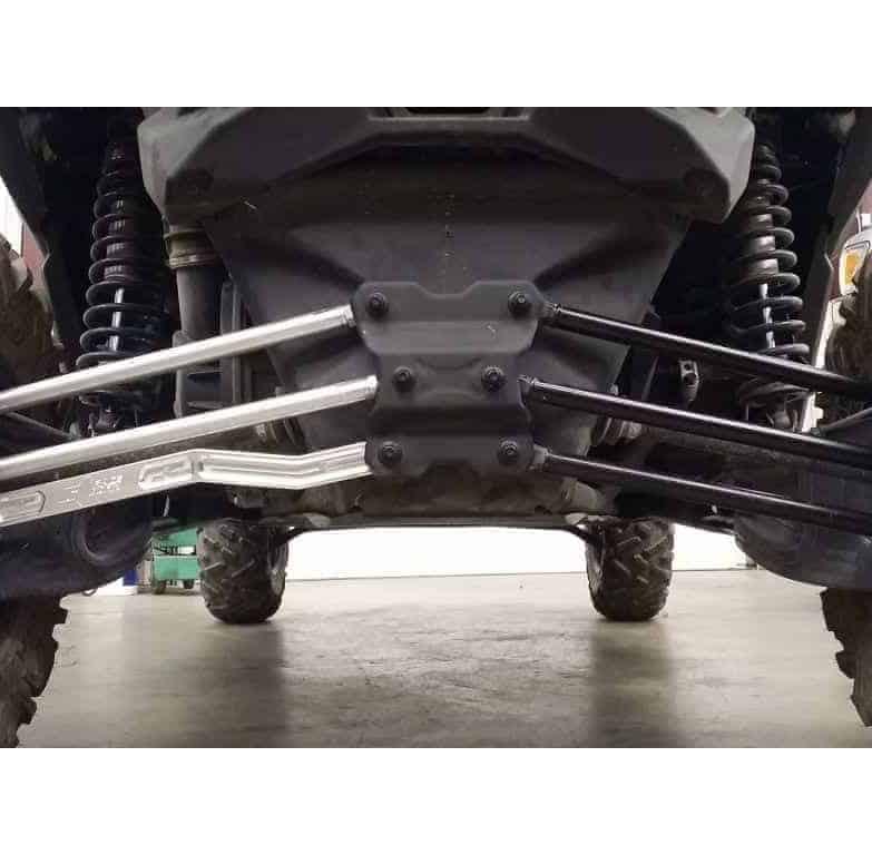Maverick X High Clearance Worx Series Billet Radius Rod Kit