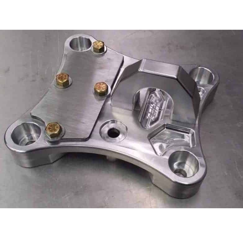 Maverick X Billet Proof Radius Rod Plate With Tow Ring With Steel Plate