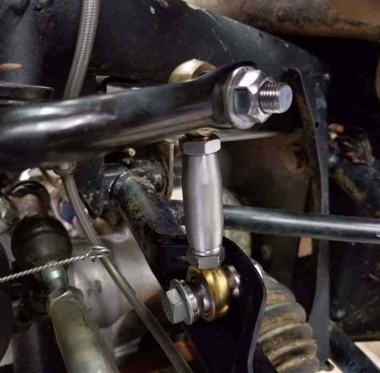 Maverick X Front Sway Bar Links