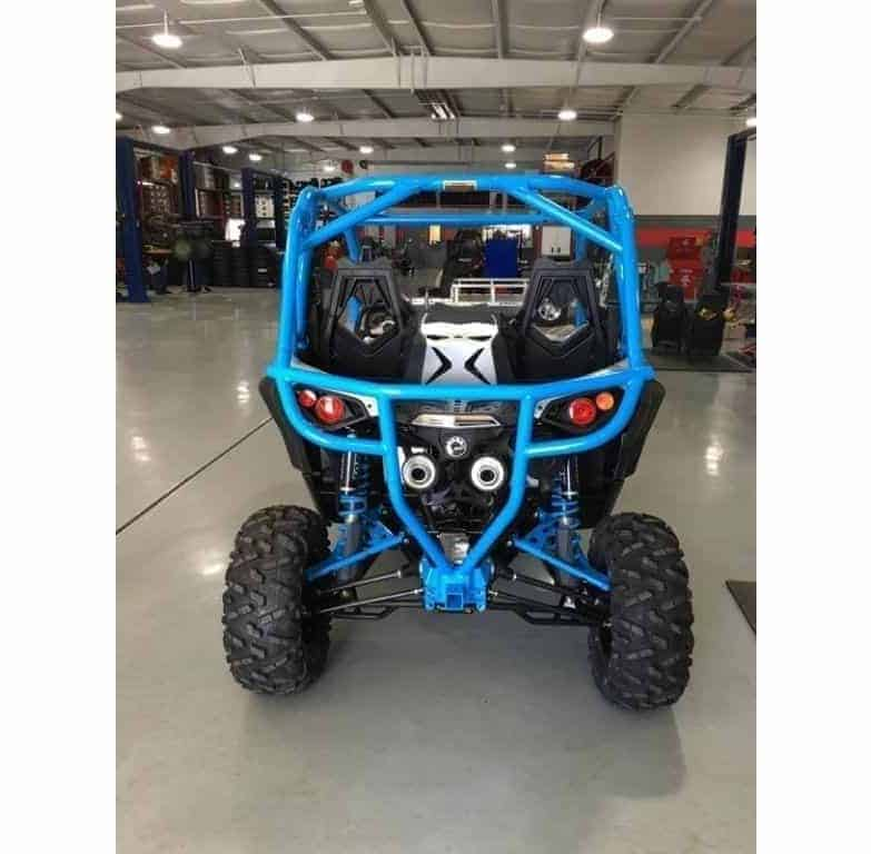 Maverick Xds Rear Bumper With Receiver High Mount