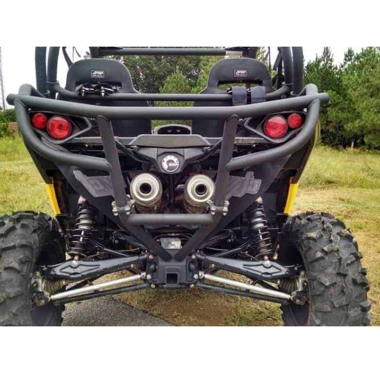 Can-am Maverick Rear Bumper With Low Mount Receiver
