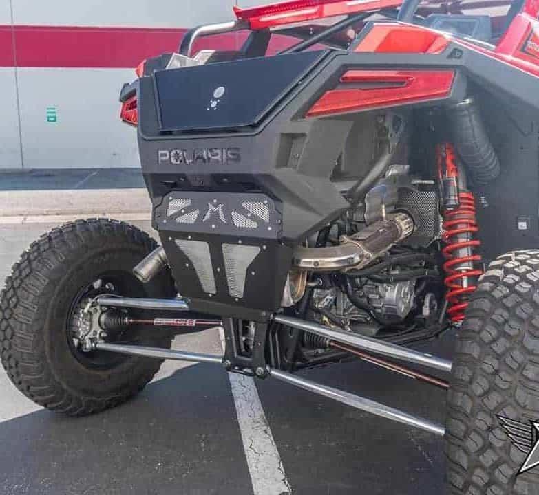 Polaris Rzr Pro Xp Exhaust Cover