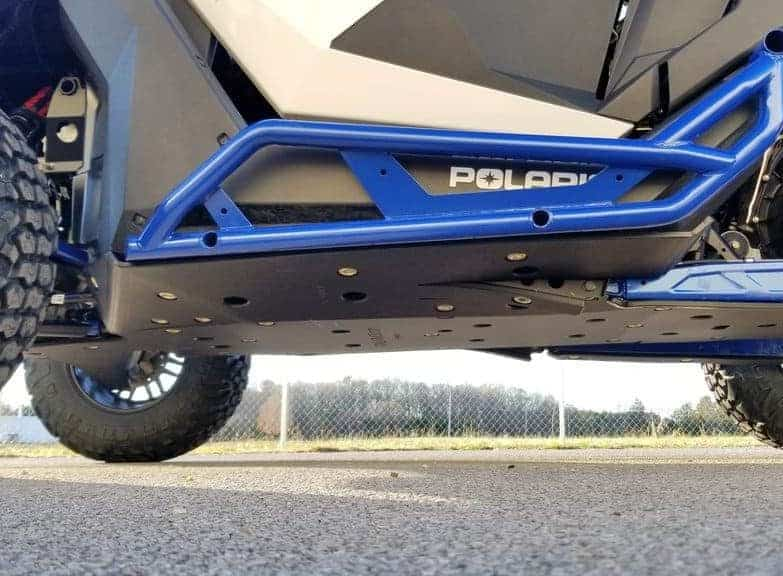 Polaris Rzr Pro Xp Full Skid Plate With Rock Sliders