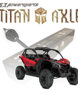 Can-am Maverick X3 Axles, 64″ Wide None Smart-lok