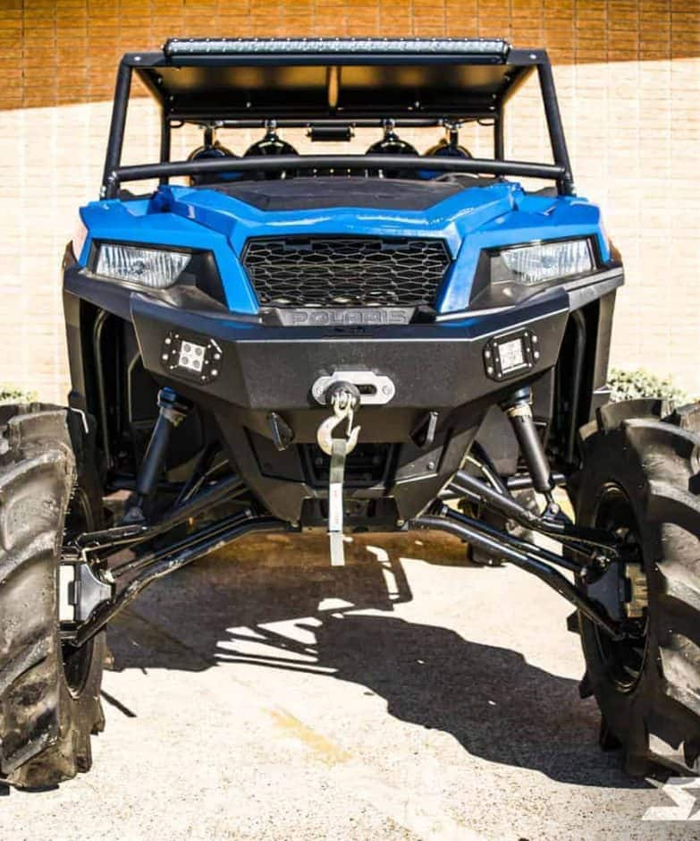 Polaris General Front Winch Bumper