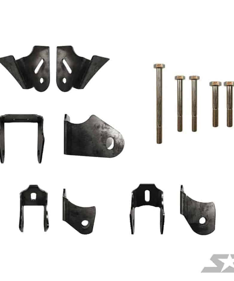 Can-am Maverick X3 Powertrain Weld-in Gusset Kit
