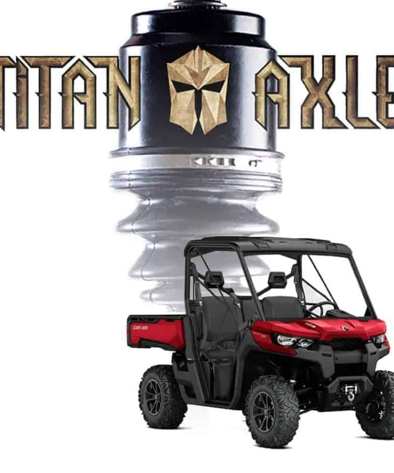 Can-am Defender Titan Axles