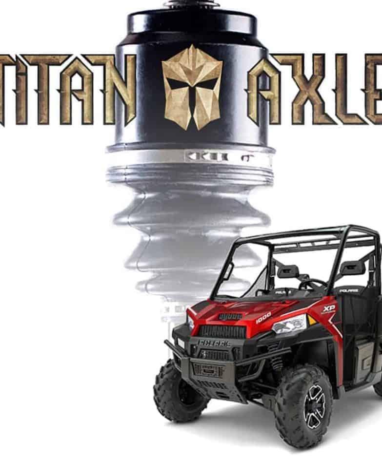 Polaris Ranger Titan Axles