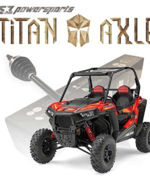 Polaris Rzr S Series Axles, Titan Edition