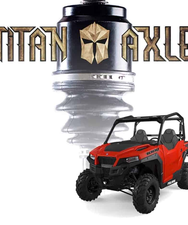 Polaris General Titan Axles