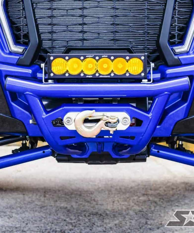 Polaris Rzr Xp Turbo S Front Winch Bumper