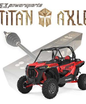 Polaris Rzr Xp Turbo Axles, Titan Edition