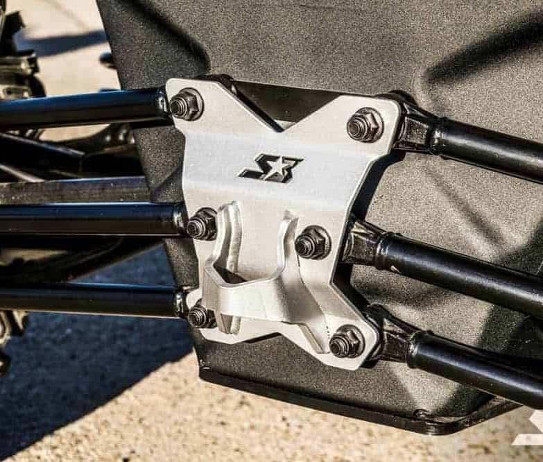 Can-am Maverick X3 Radius Rod Pull Plate