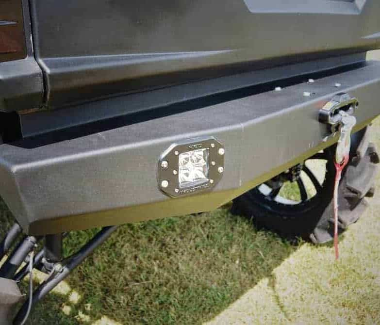 Polaris Ranger Rear Winch Bumper