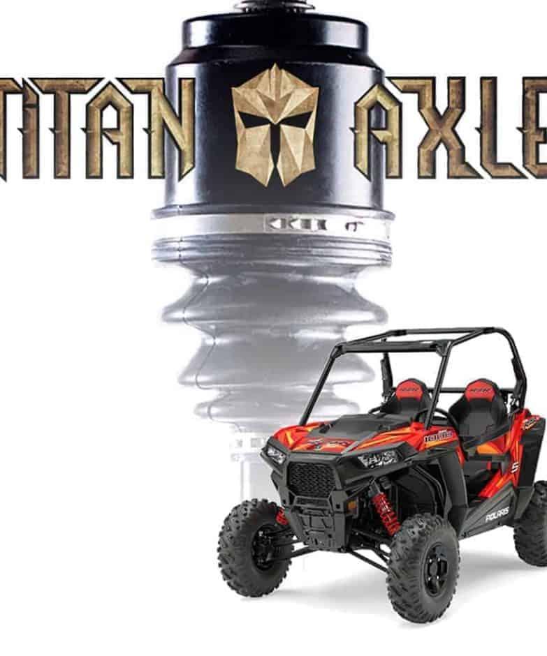 Polaris Rzr S Titan Axles