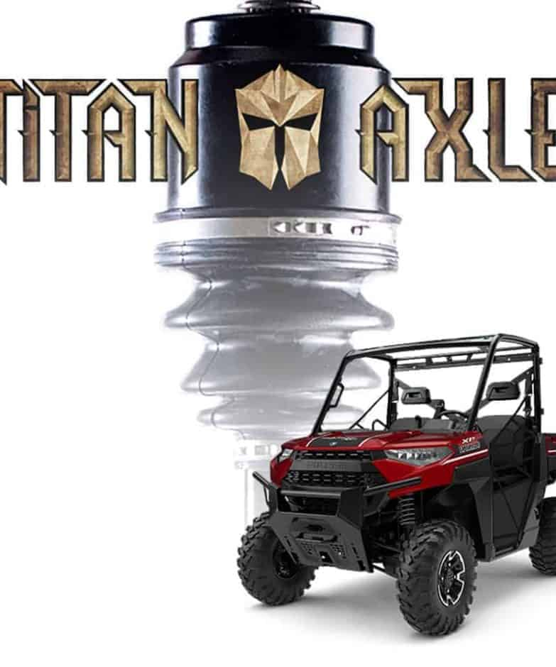 Polaris Ranger +6″ Titan Axles