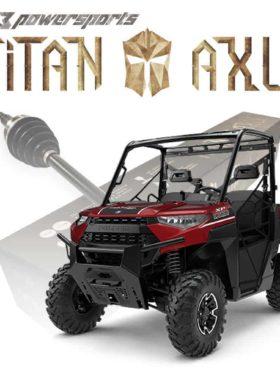 Polaris Ranger Axles, Titan Edition New Models