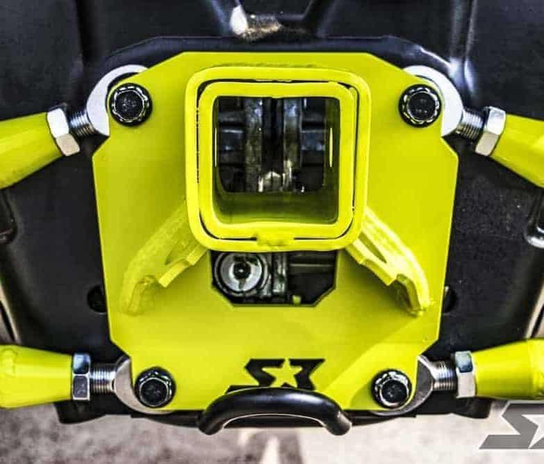 Polaris Rzr Xp Radius Rod Receiver Plate