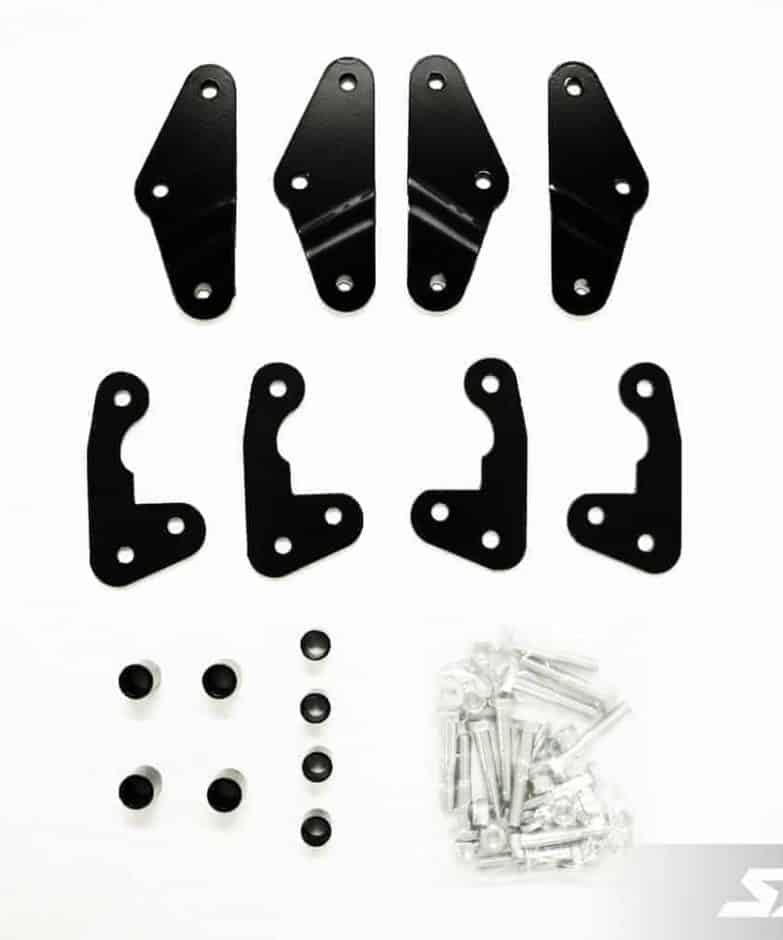 Polaris Ranger 3″ Bracket Lift Kit