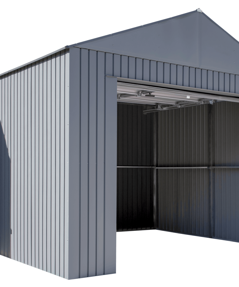 Everest Steel Garage, Wind & Snow Rated Building Kit.