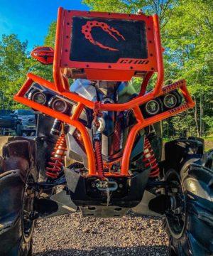 Can-am Renegade Radiator Relocate Bumper
