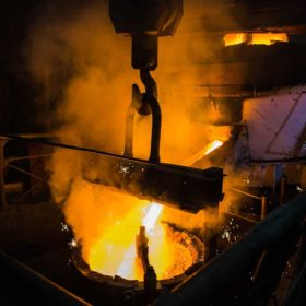 Cabba D Molten Steel Pouring Liquid Hot Metal Of Steel G Xdq Scaled