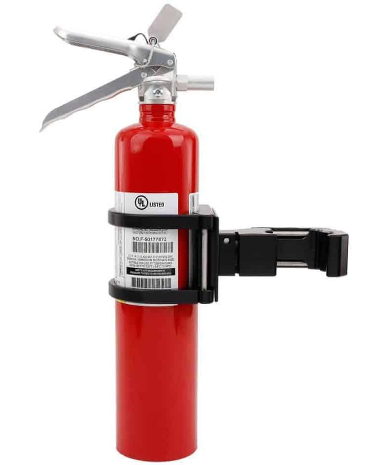 Billet Fire Extinguisher Quick Release Mount