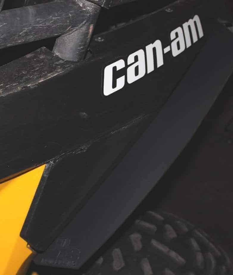 Can-am Maverick Mud Flap Fender Extensions