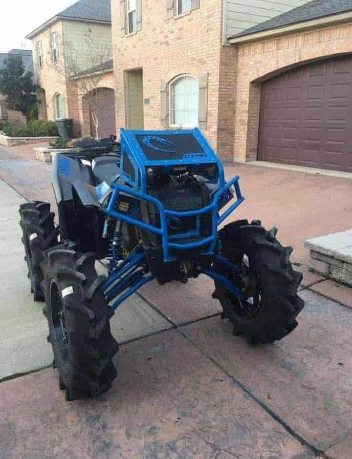 Polaris Scrambler Radiator Relocate Bumper