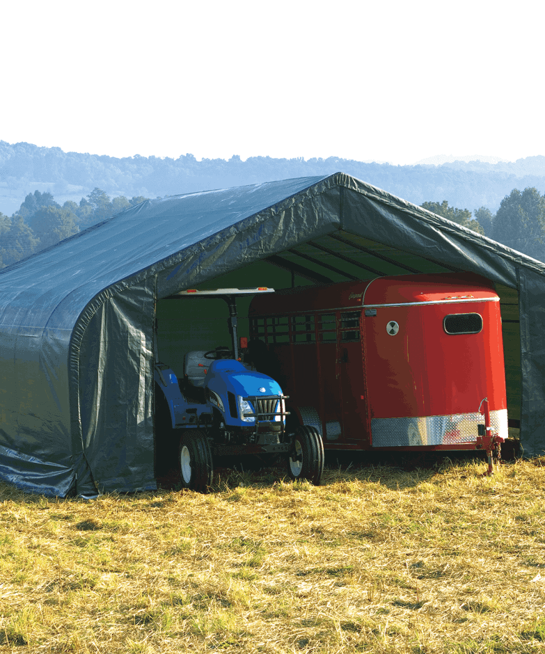 Sheltertech Sp Series Peak Shelter, Wind & Snow Rated Building Kit.