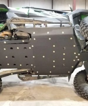 Kawasaki Krx 1000 Skid Plate With Integrated Rock Sliders